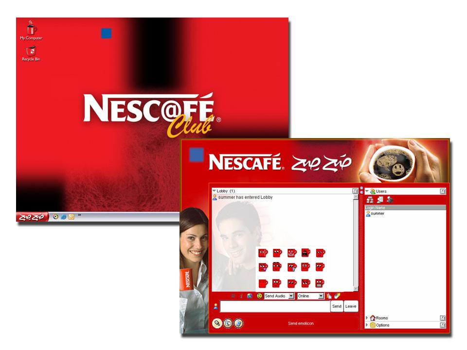Nescafe Chat