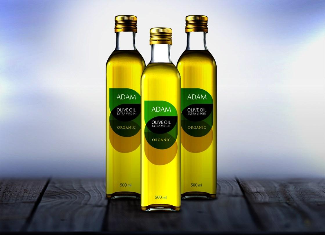 Adam Oil Label Option 3