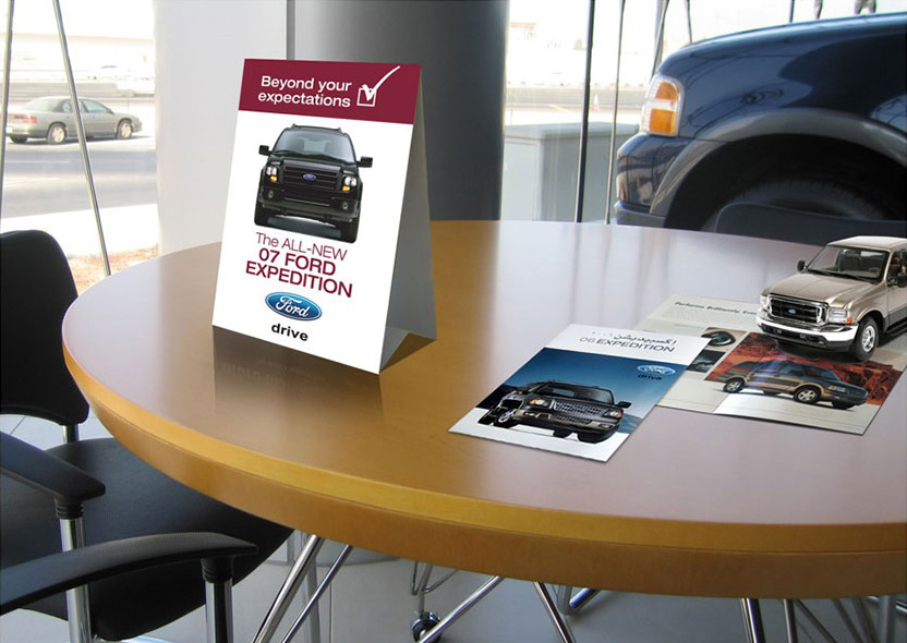 Ford Expedition Showroom POSM