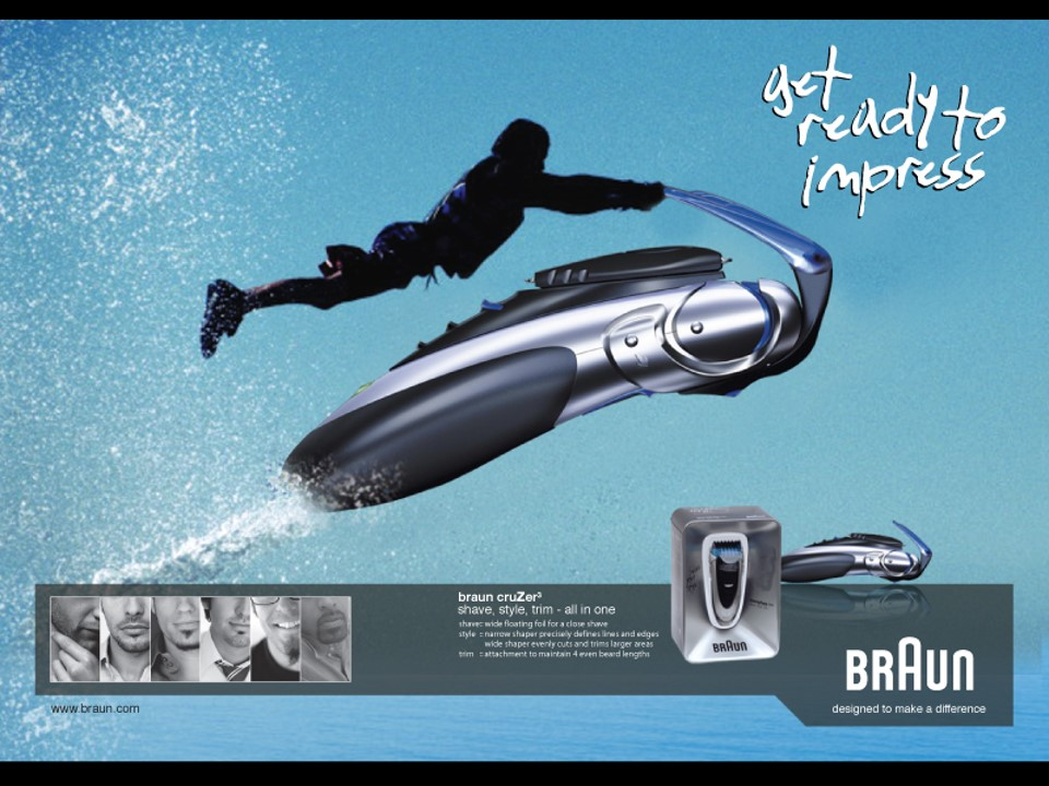 Braun Print Impress 3