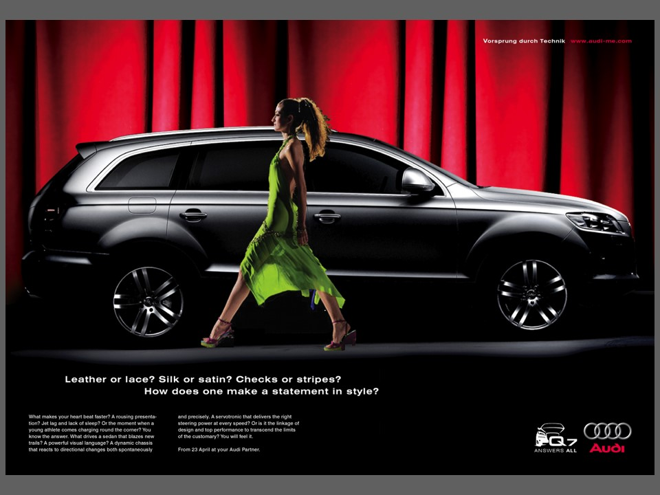 Q7 Print Ad Fashion