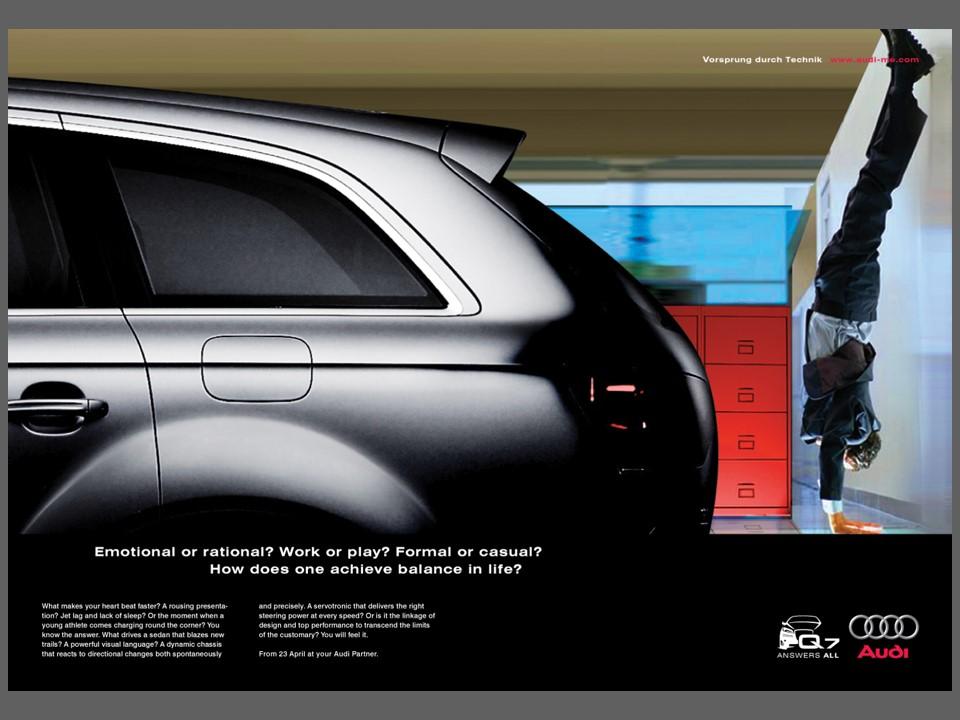 Q7 Print Ad Innovative