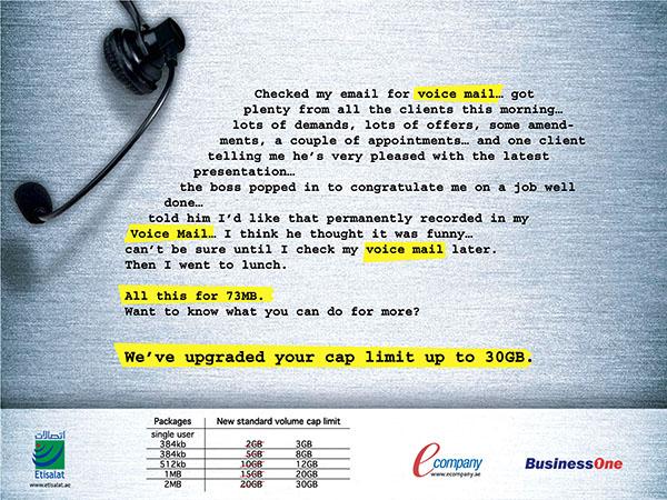 Etisalat BusinessOne Ad 04