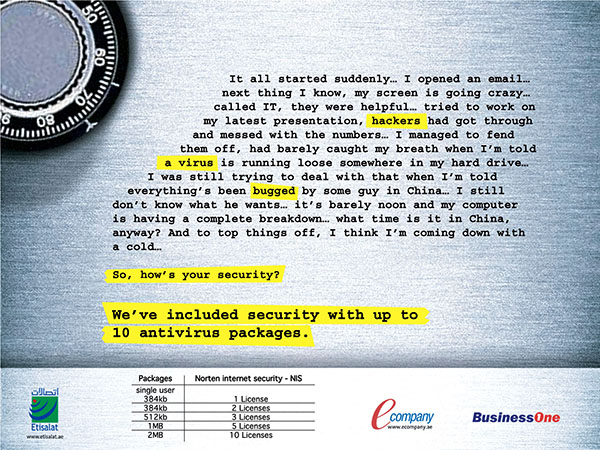 Etisalat BusinessOne Ad 05