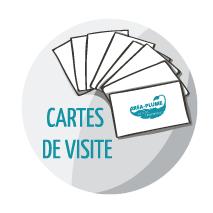 icone cartes de visite Créa-Plume design graphique, conception de supports de communication crea-plume.com