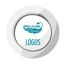 icone logos Créa-Plume design graphique, conception de supports de communication crea-plume.com