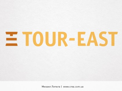«Tour-East» logo design