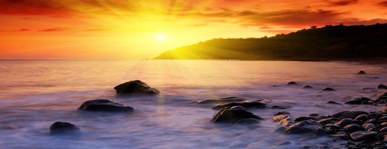 site-web-pour-artiste-couche-soleil-mer