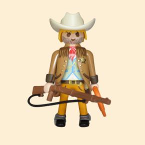 shérif veste marron