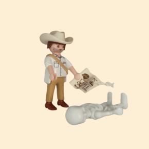 historien chercheur Playmobil