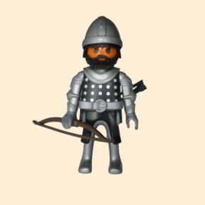 playmobil archer arabe