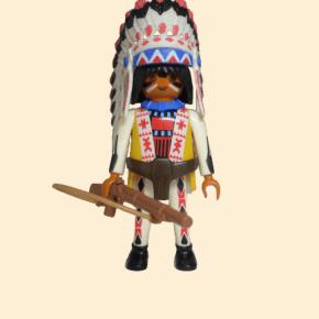 playmobil indien avec fusil