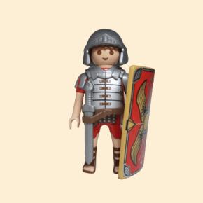 romain avec bouclier