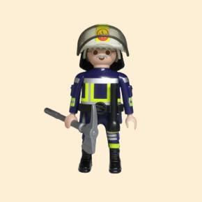 Playmobil vieux pompier
