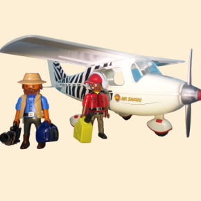 playmobil avion explorateurs