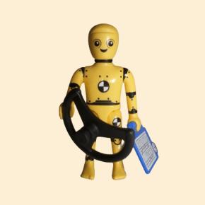Robot avec volant