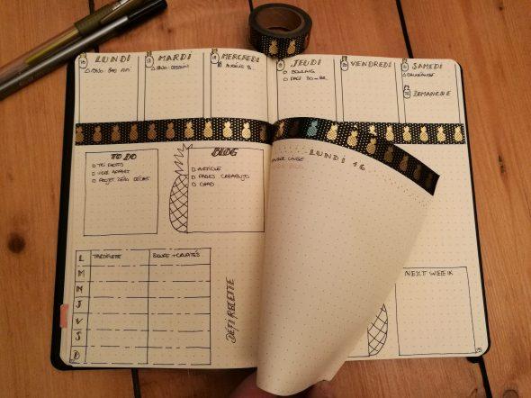 Dutchdoor - bullet journal - bujo - weekly log