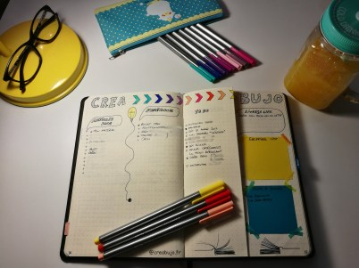 Braindump Bujo Bullet journal Idée page