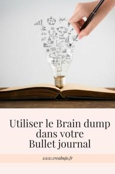 Utiliser le Brain dump dans votreBullet journal