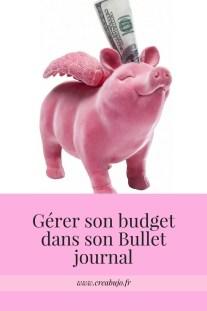 Gérer son budget dans son Bullet journal