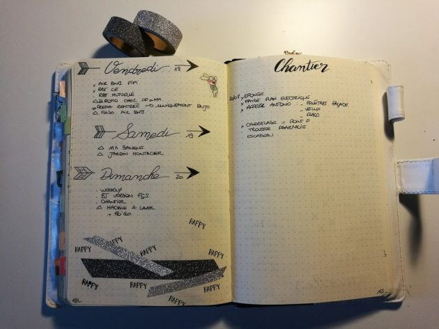 To do list - Bullet journal