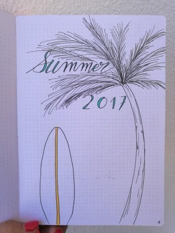 Summer - surf - bujo