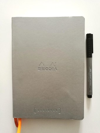 Carnet pour bullet journal - Goalbook