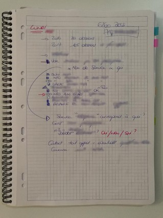 Bullet journal professionnel - inspiration