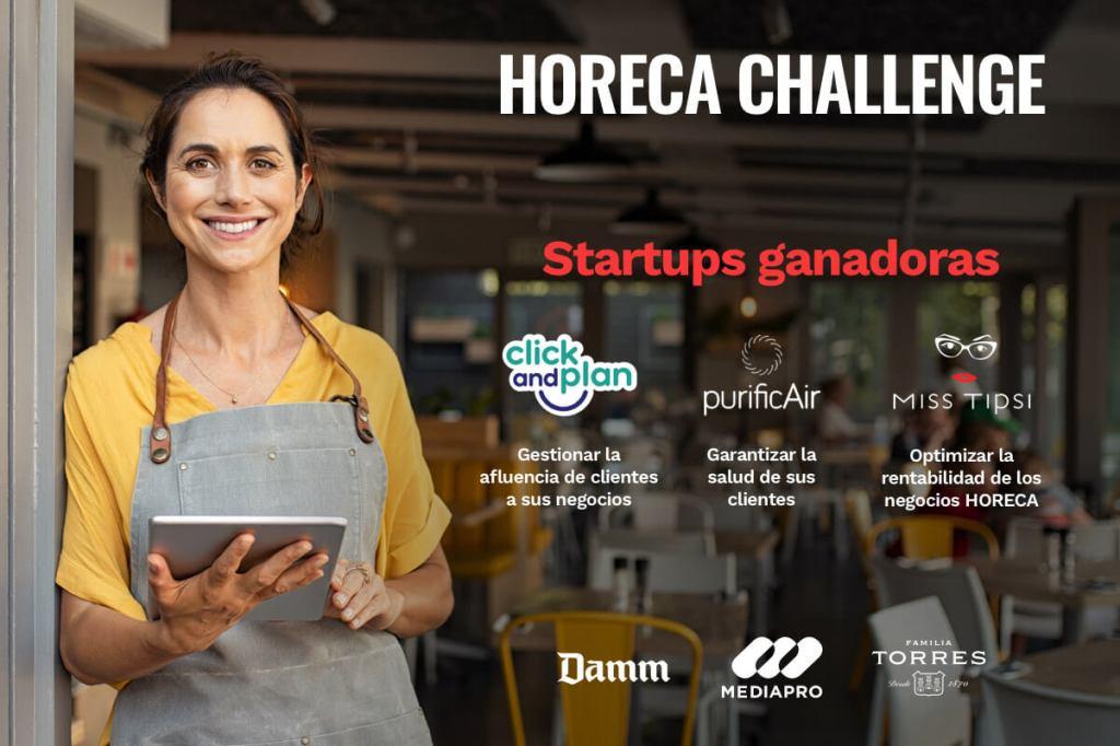 Elegidas las startups ganadoras del Horeca Challenge