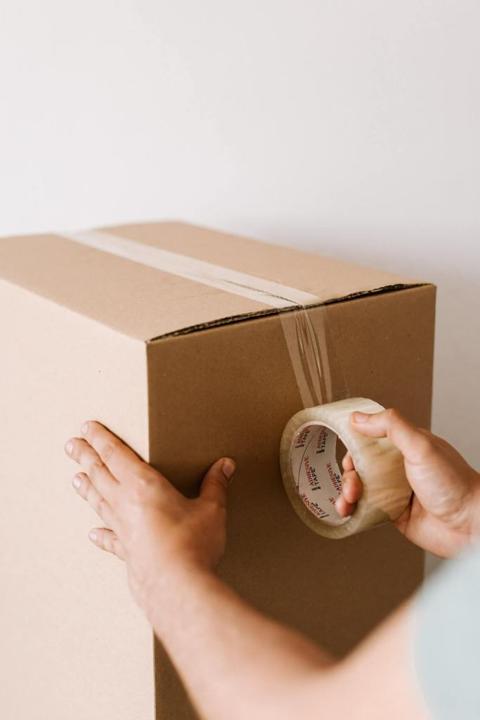 Mascarillas y cajas