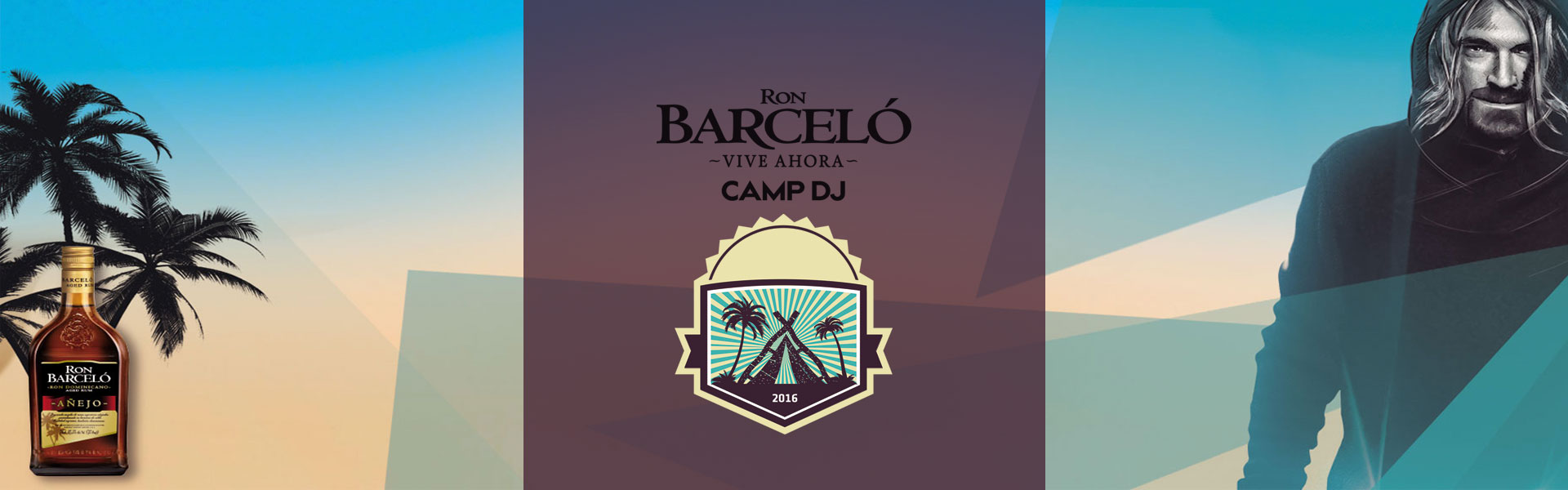 Ron Barceló Camp DJ