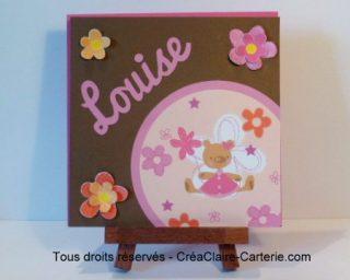 Oursonnes aux fleurs - ref : MOD-006