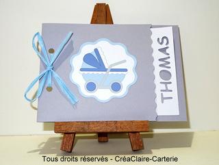 Félicitations naissance écologique Petit Berçeau-face