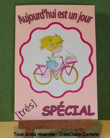 Vélo de Fille - Ref : MOD-027