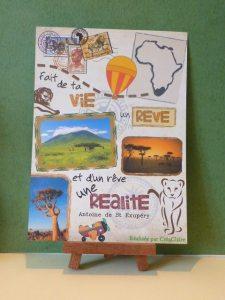 Affiche poster personnalisée Voyage Afrique Saint Exupéry
