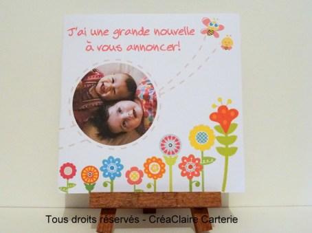 Nature Fleurs et Abeille -Ref : MOD-020