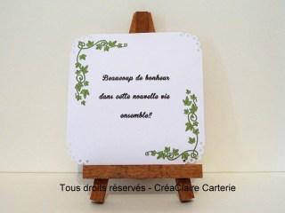 félicitation mariage vendange personnalisée photo-int verso (2)
