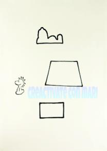 Patrón Cómo hacer fundas de móvil Snoopy con goma eva o foamy