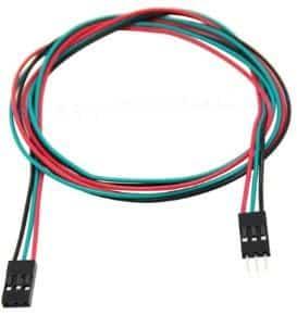 Cable 3 pins imprimante 3D
