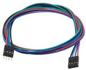 cable 4 pins imprimante 3D