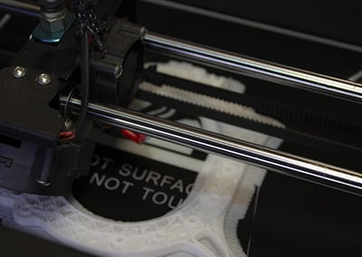 axe X imprimante 3D tige