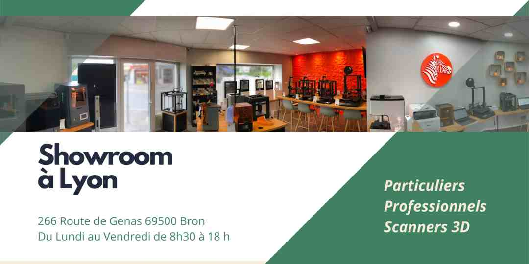 show room imprimantes 3d Creadil