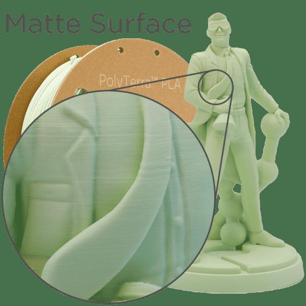 Impression filament Polymaker Polyterra Vert menthe