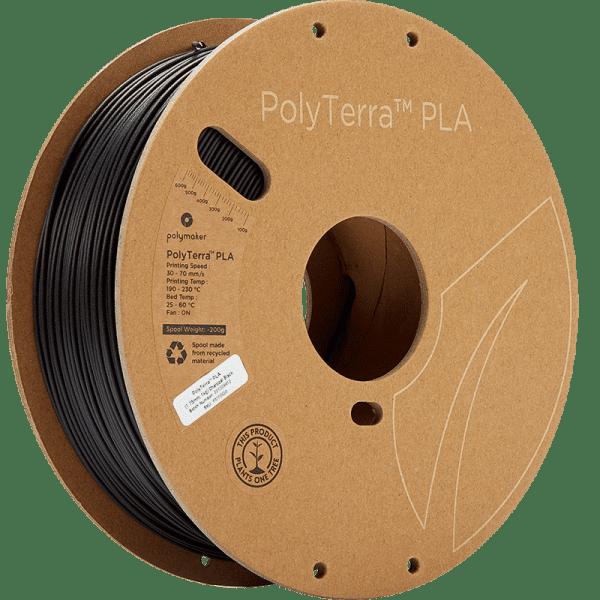 Polyterra charcoal black