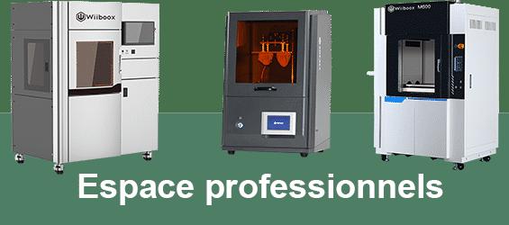 Imprimantes 3D professionnelles