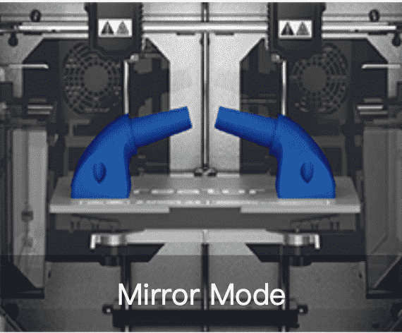 Flashforge Creator 3 miroir