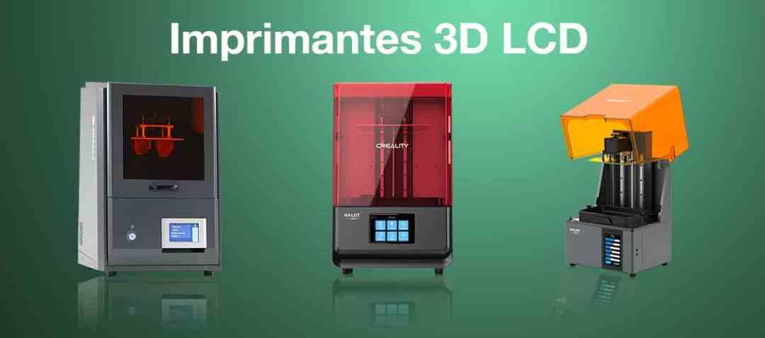 imprimante 3d professionnel LCD