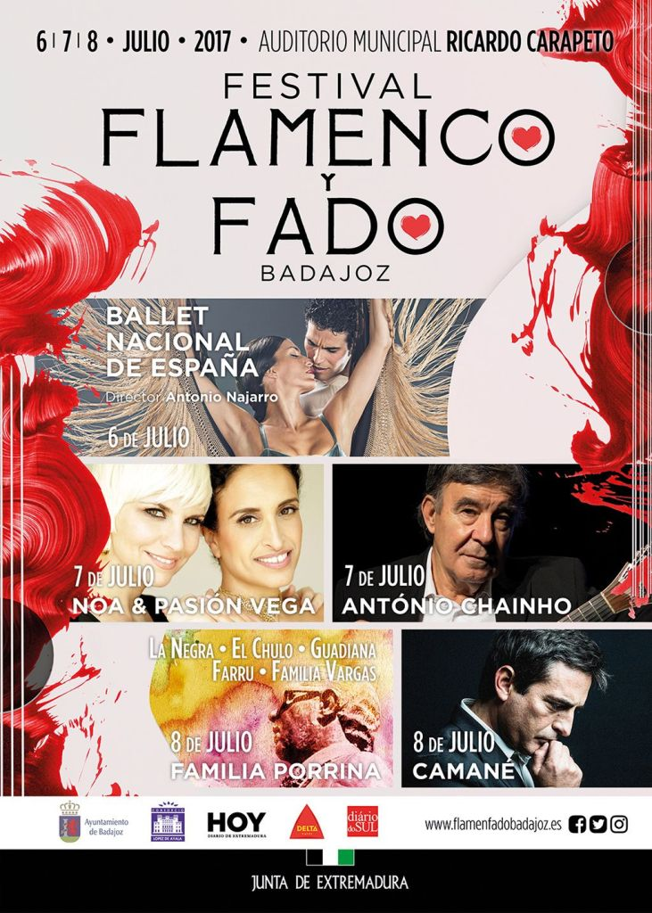 cartel flamenco y fado
