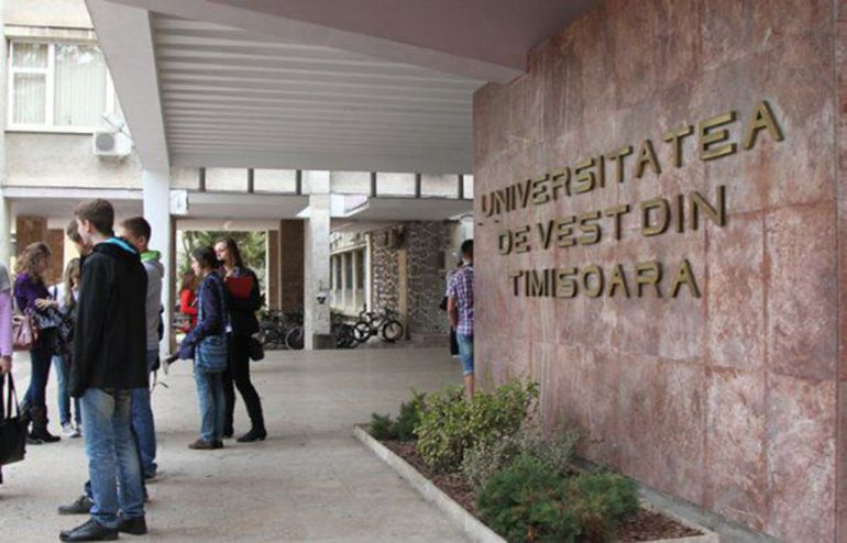 Universidad del Oeste de Timisoara (Rumanía)