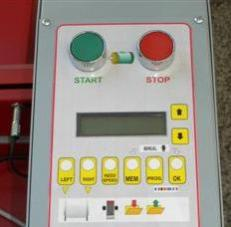 Semi automatic warping machine